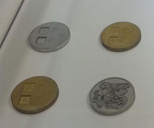 Laser khắc nhãn mác trên kim loại