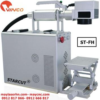 Máy cắt khắc kim loại laser Fiber tạo nhãn mác Starcut ST-FH series