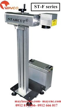 Máy cắt khắc kim loại laser Fiber tạo nhãn mác Starcut ST-F series