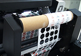 Máy Laser bế tem nhãn decan