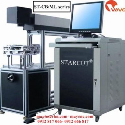 Máy cắt khắc kim loại laser Fiber tạo nhãn mác Starcut ST-CB/ML-CG series