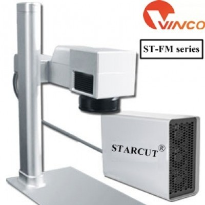 Máy cắt khắc kim loại laser Fiber tạo nhãn mác Starcut ST-FM series