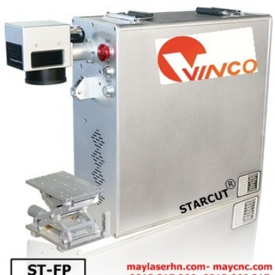 Máy cắt khắc kim loại laser Fiber tạo nhãn mác Starcut ST-FP series