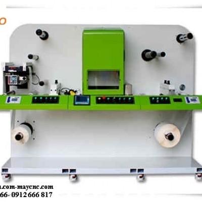 Máy laser cắt nhãn mác dạng cuộn