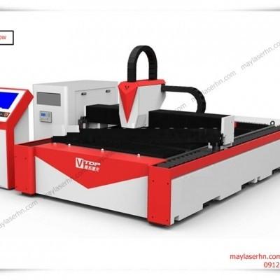 Máy Laser Fiber ST-150300DT-500W cắt tấm kim loại