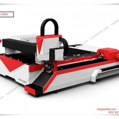 Máy Laser Fiber ST-150300DTG-500W cắt tấm kim loại