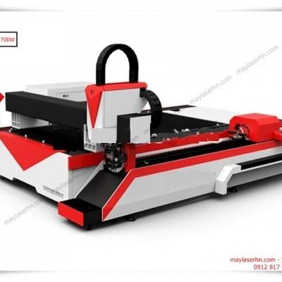 Máy Laser Fiber ST-150300DTG-700W cắt tấm kim loại