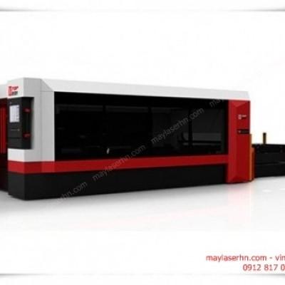 Máy Laser Fiber ST-150300JH-2000W cắt tấm kim loại