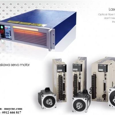 Những phụ kiện chính của máy laser Fiber ST1325