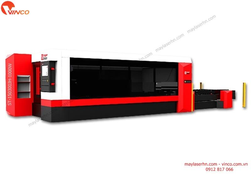 May Laser Fiber ST-150300JH-1000W cat tam kim loai